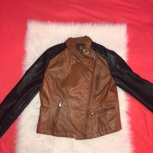 Doll House Faux Leather Motorcycle jacket